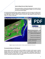 ENVI Convert en Do Projecoes Do Mapa [Convert Map Projection]