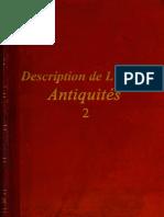 Description de L'Egypte - Antiquités - 2