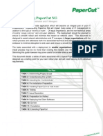 PaperCut NG Implementation Guide