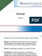 VB Script Classes