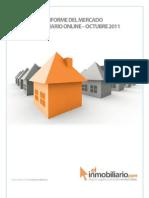 Informe Mercado Inmobiliario Online Octubre 2011