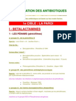 Classification Des Antibiotiques