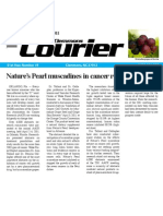 Nature's Pearl Muscadine Supplement Slows or Stops Cancer Growth in Research Study