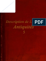 Description de L'Egypte - Antiquités - 5