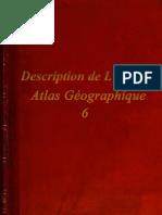Description de L'Egypte - Atlas Géographique - 6