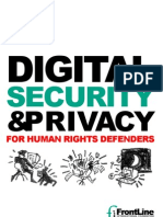 Digital Security and Human Rights Defenders