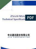ZXA10 MSAN Technical Specification