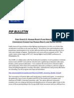 Pip Bulletin