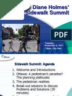 Sidewalk Summit Presentation