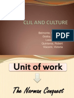 Clil and Culture 1