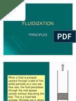 Fluidisation prinicple