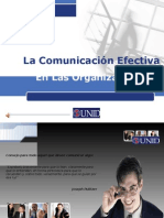 Comunicación Efectiva en las Organizaciones