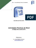 Ejercicios Word 2011