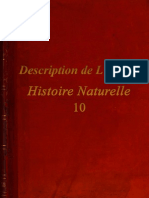 Description de L'Egypte - Histoire Naturelle - 10