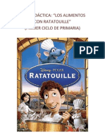 GUÍA DIDÁCTICA-los alimentos con Ratatouille