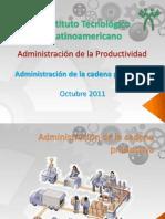 Admin is Trac Ion de La Cadena de Suministro