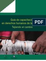Guía de Capacitacion en Derechos Humanos de las Mujeres_IIDH 2009