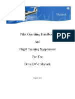 Skylark Operating Handbook BE 1.1