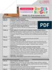 Programación Encuentro Internacional de Experiencias de Centros Culturales