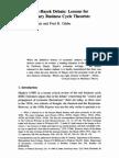 Cochran & Clahe on Keynes-Hayek Debate[1]
