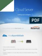 Apresentação Cloud-Server - redehost