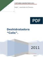 Proyecto Desh Chile El Refugio ITVG
