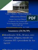 Caso Clinico-Mononucleose clássica