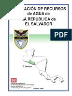 Informe Sobre Recurso de Agua en El Salvador