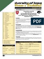 Iowa vs Harvard Game Notes
