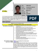 Fabio Slesio_Customer Service Agent_English-French and Italian