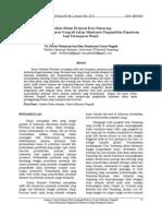 Analisis Sistem Drainase Kota Semarang