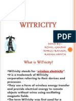 Witricity Final