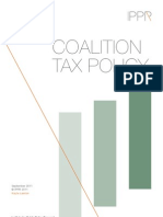 Coalition tax policy