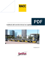 22822 Estudio RACC - Comparativa Europea de Taxis 111005 DEF