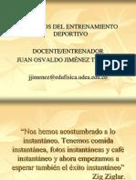 Principios Del Entrenamiento Deportivo