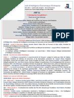 AIE JIEE 2011 Programme Officiel