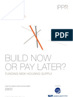 Build now or pay later? Funding new housing supply