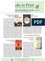Books In Print | 2011/12 Summer Reading Guide