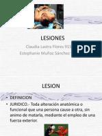 LESIONES , Med Legal