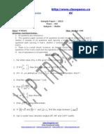 5810 Sample Paper