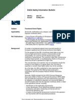 EASA SIB 2011-07-1(Functional Check Flights)