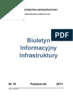 Buletyn Informacyjny Infrastruktury 10-2011