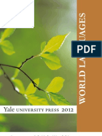 Yale University Press World Languages 2012 Catalog