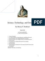 Science Technology and Government Roth Bard)