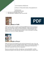 Five Pillas of Islam