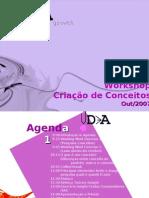 Workshop Treinamento Conceitos BU