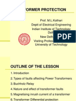 Transformer Protection( Power Grid Ballabhgarh