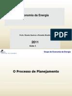 Economia Da Energia 2011 Aula 1