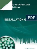 Kaspersky Instalacion para servidor Linux