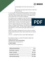 Bosch Magnetron Innowave HMT8956EU-02